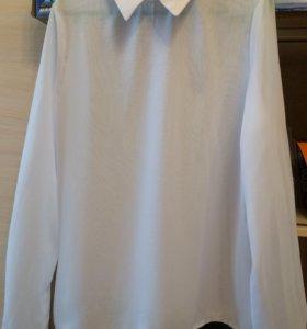 Блуза белая р.42