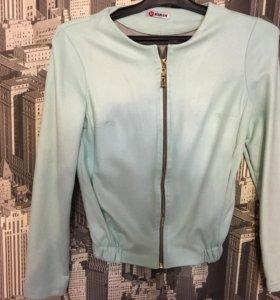 Замшевая Куртка пиджак
