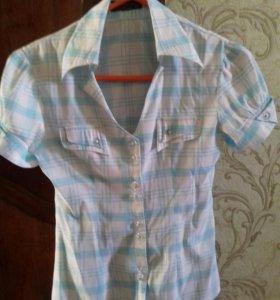 Молодёжная блузка-рубашка