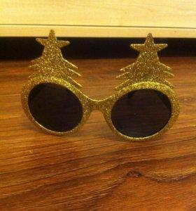 Очки для Нового года