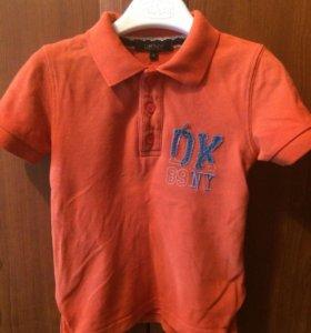 Бредовая футболка DKNY на рост 116 см