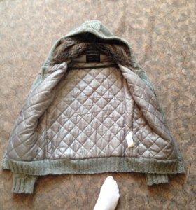 Куртка вязаная/свитер Pull&Bear