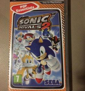 Игра на PSP соник