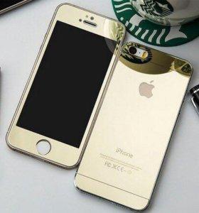 iPhone защитные зеркальные стекла
