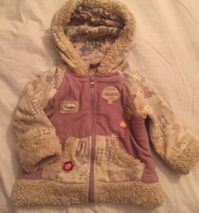 Куртка для девочки утеплённая(весна-осень).Турция