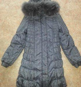 Зимний пуховик для беременной