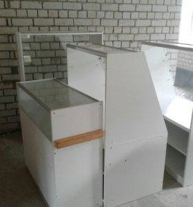 Шкафы, витрины, стол