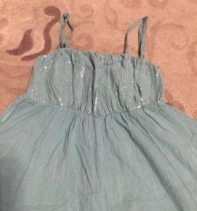 Платье на девочку 9-10 лет!
