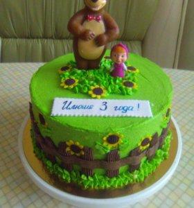 Самые вкусные домашние тортики