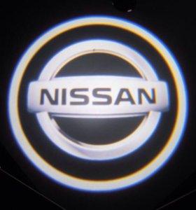 Проектор автологотипа Nissan