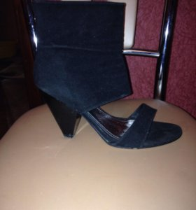 Туфли замша обувались 1 раз