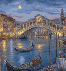 Набор для раскрашивания. Венецианска ночь .