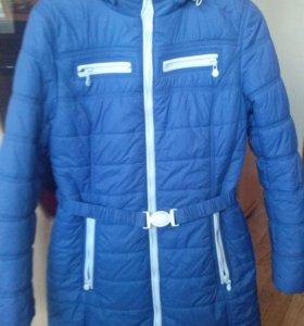 Куртка демисезонная 46р (можно для беременной)