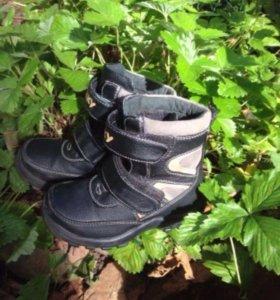 Ботинки демисезон кожа 25, территориально Кратово