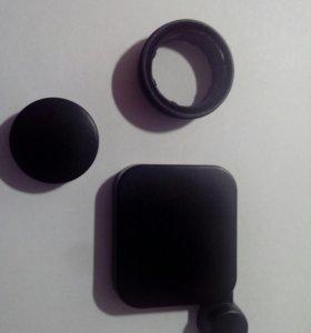 Uv фильтр и 2 защитные крышки для gopro