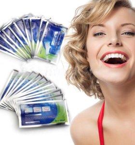 Отбеливающие гелевые полоски для зубов