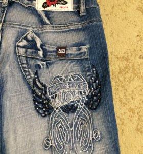 Ультрамодные подростковые джинсовые бриджи