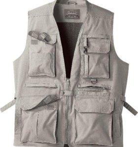Новый мужской жилет Cabelas mens safari vest