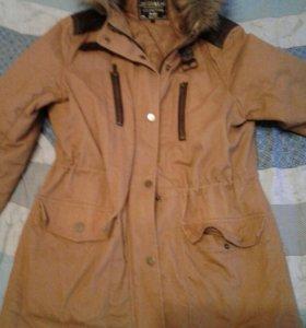 Осенне-весенняя Куртка парка 46