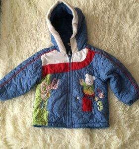 Пальто  детское стёганое