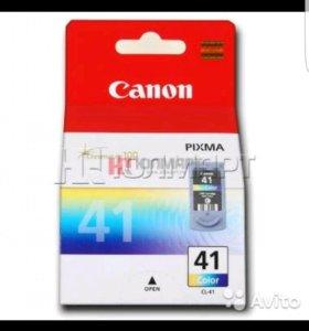 Картридж для принтера Canon Black-40 и Color-41