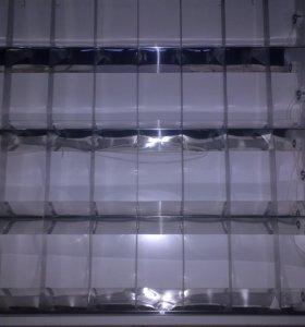 Светильник 4*18 для подвесного потолка