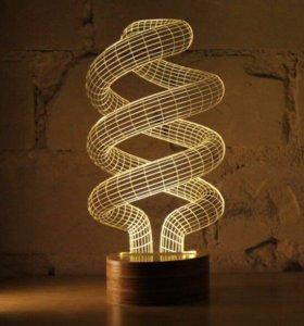 3D Светильники - ночники. Доставлю бесплатно