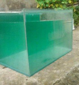 Продам аквариум + компрессор фильтр