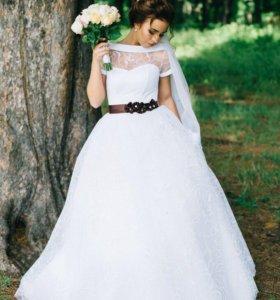 Шикарное свадебное платье💞👰🏽