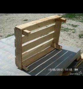 Ящик овощной деревянный 60.40.15