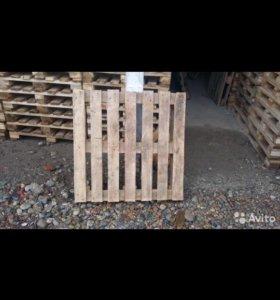 Поддон деревянный 80.80 под кирпич