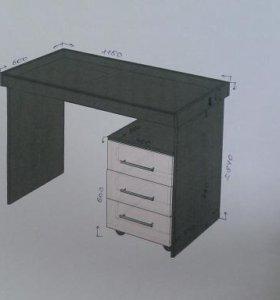 Стол с подсветкой для дизайнеров