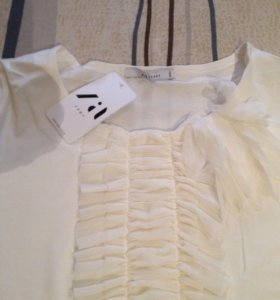 Блуза. Zaps  молочного цвета
