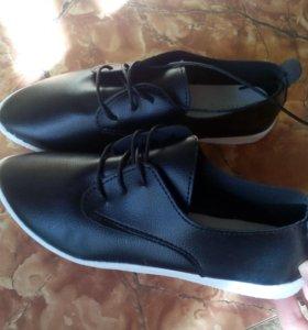 Новые слипоны туфли ботинки