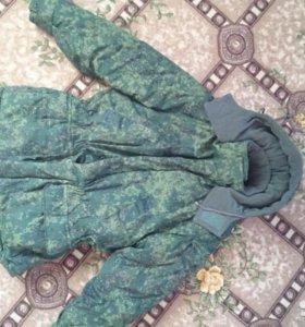Куртка военного раскраса