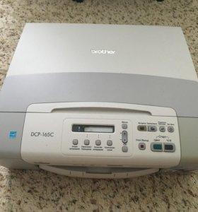Принтер drother DCP-165C