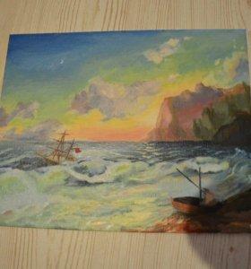 Картина 'море' масло