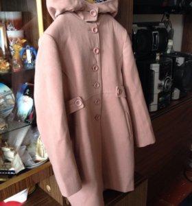 Пальто для девочки осень-весна.