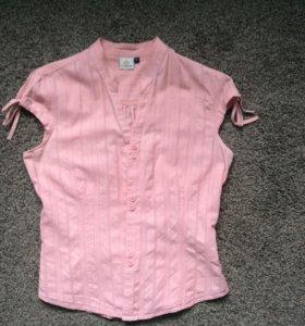 Рубашка розовая классическая
