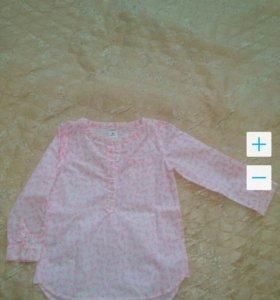 Рубашка-туника Carters, 3T