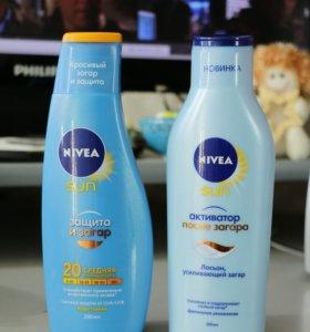 Крем для и после загара Nivea