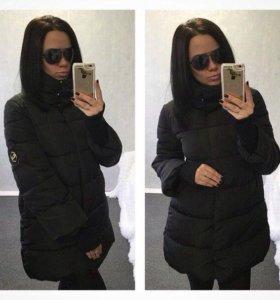 Куртка  зимняя в хорошем состояние .