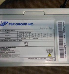 Блок питания FSP 500PNR 500w 120мм