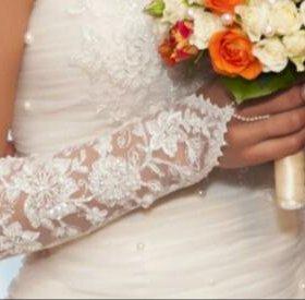 Перчатки для невесты!