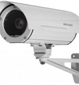 Установка камер видеонаблюдения.
