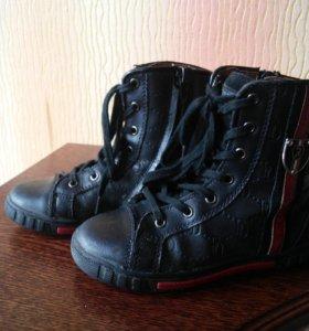 Демисезонные ботинки Зебра,размер 28