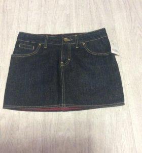 Юбка джинсовая XS-S новая