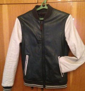 Куртка кожзам для мальчика