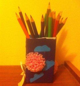 Подставка под карандашей