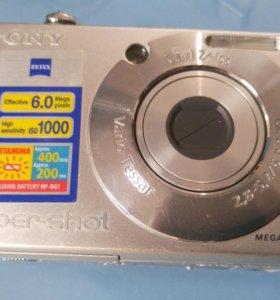 Фотоаппарат Sony Cyber-shot DSC-W30